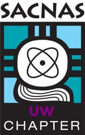 UW Society for Advancement of Chicanos and Native Americans in Science (SACNAS) Logo