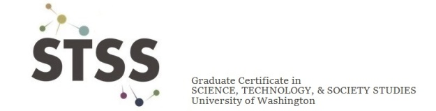 Science, Technology, and Society Studies (STSS) Graduate Certificate Logo
