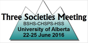 Three Societies Meeting 2016 Conference Logo