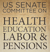 U.S. Senate Committee on Health, Education, Labor and Pensions (HELP) Logo