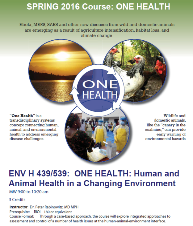 ENV H 439 SPR 2016 Flyer