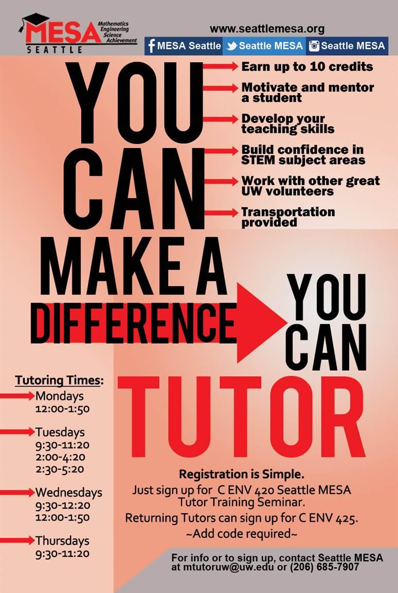 math tutoring flyer