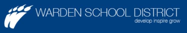 Warden School District Banner